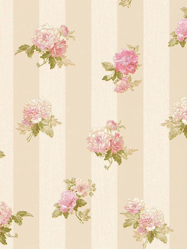 cvetne tapete za zid na pruge